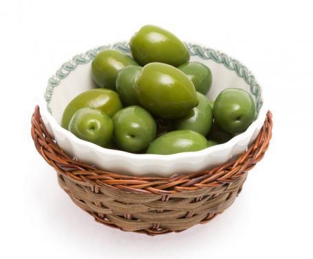 Olive Verdi Schiacciata