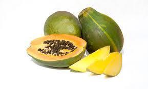 papaya al naturale