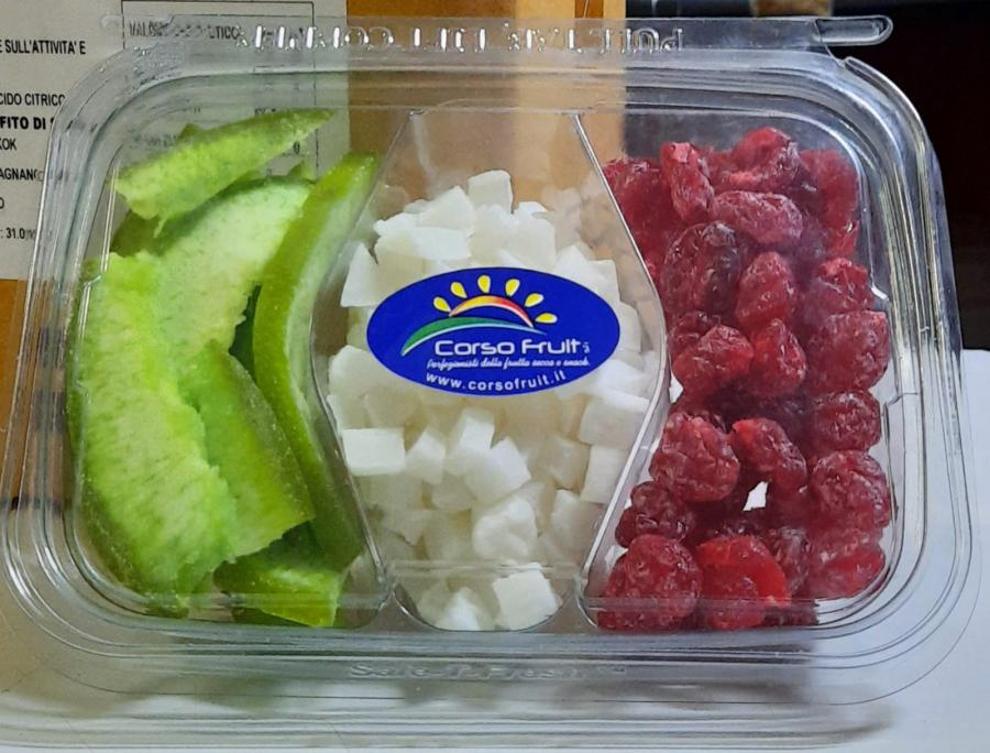Vaschette Tris Pomelo, Cocco e Ciliegie