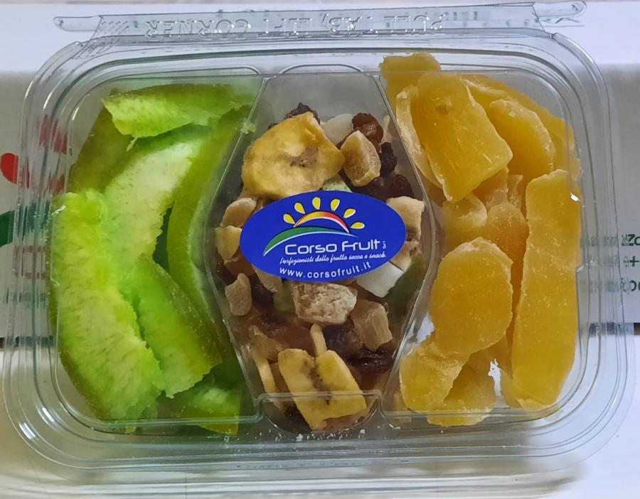 Vaschette Tris Pomelo, Mix esotico e Ginger senza zucchero
