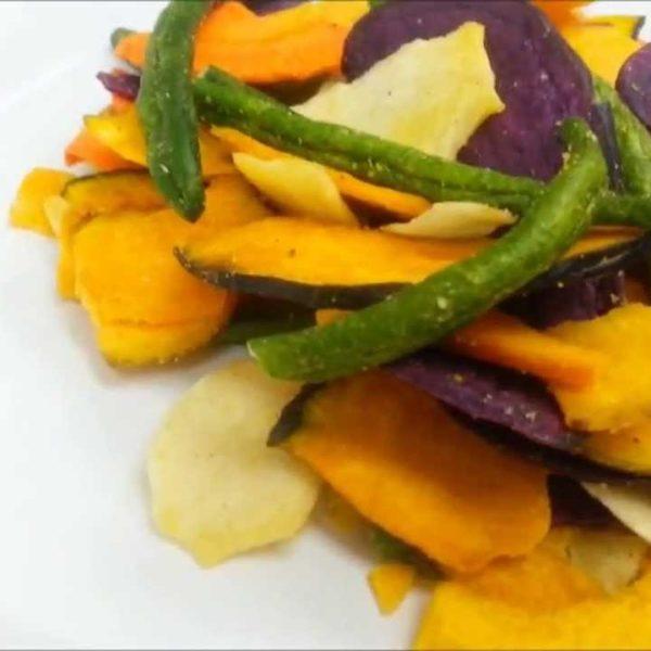 verdurine chips croccanti